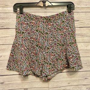 Hollister | floral flare shorts